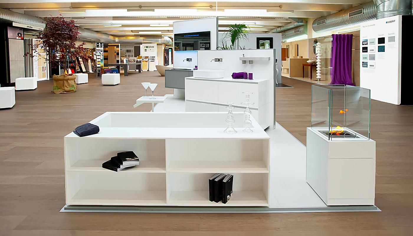 Lo showroom cambielli edilfriuli pi grande del trentino for Showroom arredo bagno milano