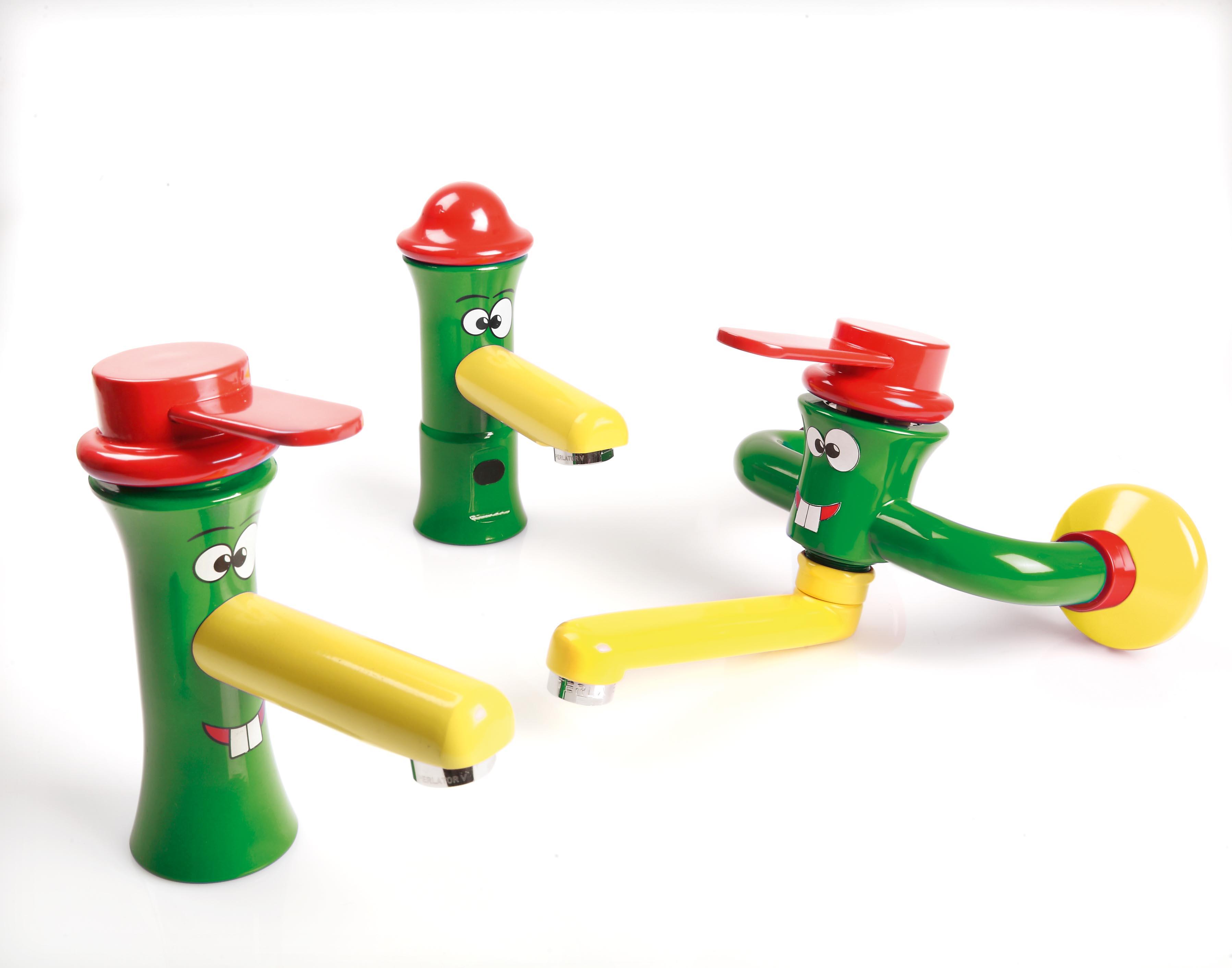 Linea di rubinetti accessori colorati e sanitari per bambini commercio idrotermosanitario - Accessori bagno colorati ...