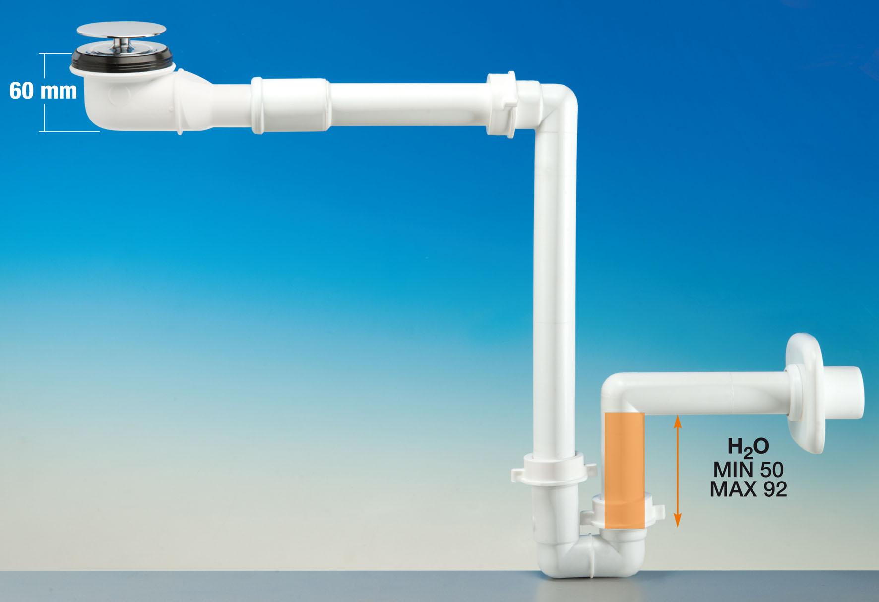 Kit sifone pi piletta pi spazio sotto il lavabo gt il giornale del termoidraulico - Sifone lavandino bagno ...