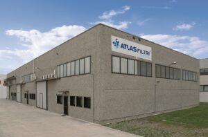 La sede commerciale di Atlas Filtri Italia ad Albignasego (PD)