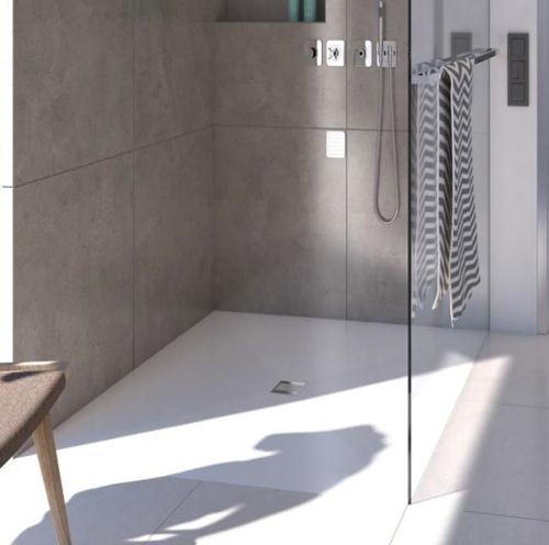 Piatto doccia filo pavimento in 6 mm robusto e for Piatto doccia a filo pavimento