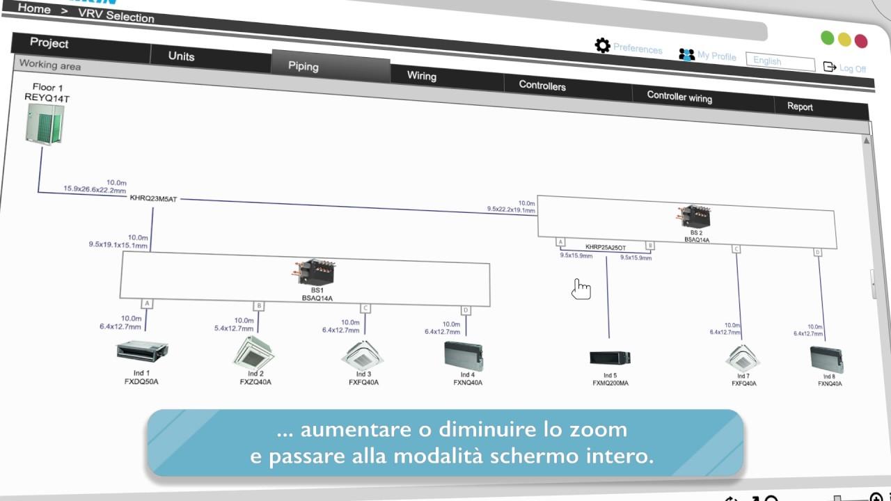 daikin lancia il nuovo software di selezione online vrv