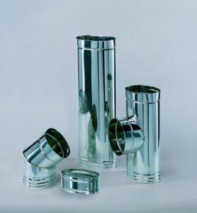 Il sistema fumario a sezione ovale in mono parete è stato studiato e creato per risolvere i numerosi problemi di intubamento di canne fumarie, offrendo la possibilità di adattamento alle più difficili tipologie di installazione