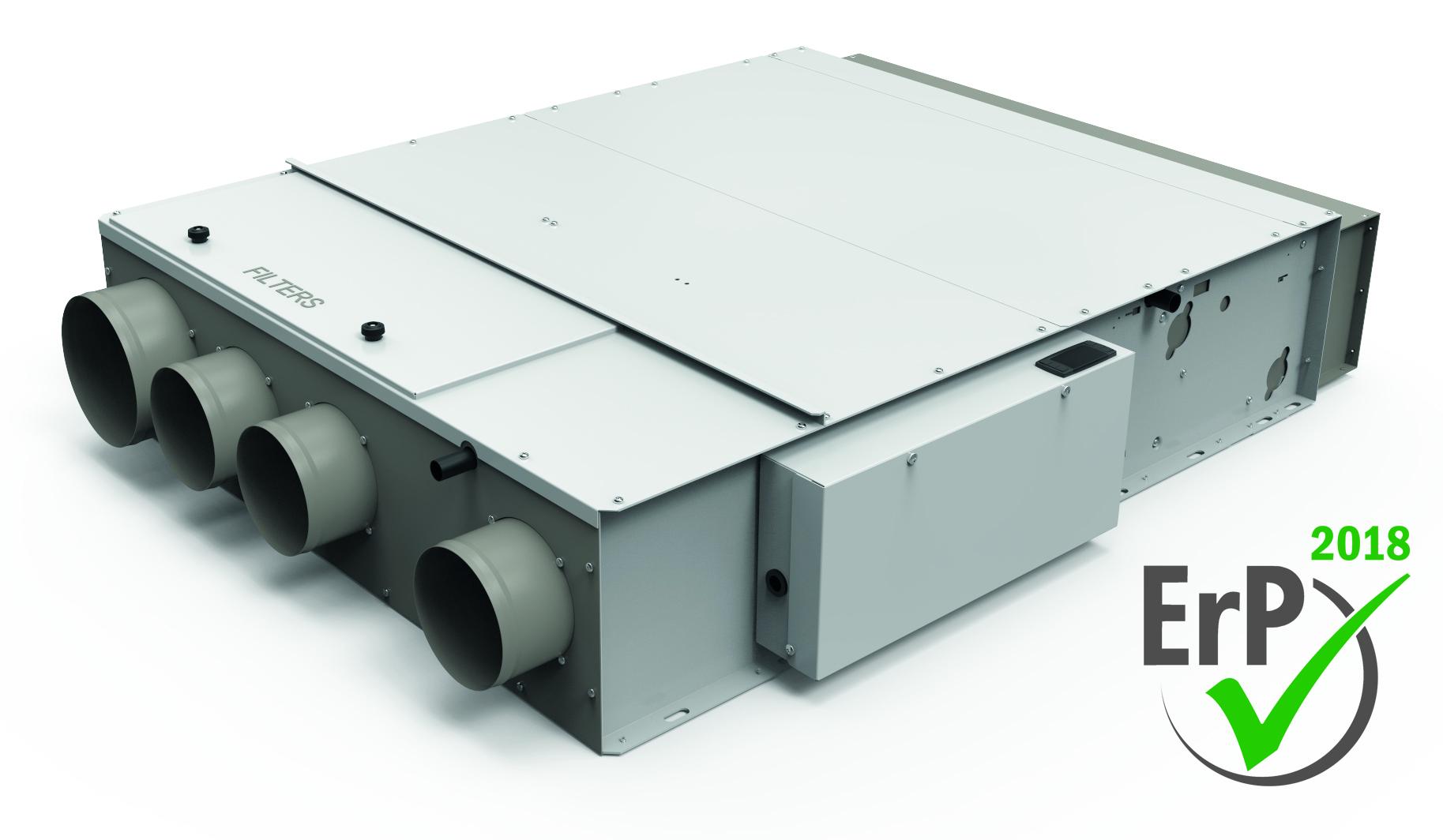 Pompa Di Calore Ventilconvettori ventilconvettore con recuperatore di calore integrato double